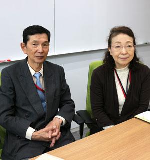 久本剛さんと松田智子さん